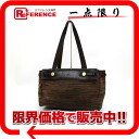 "Hermes ""airbag Cabas"" tote bag vibrato Brown of gold bracket G inscribed ""response."""