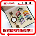 12 colors of gucci changing clothes change bezel watch Lady's watch quartz gold 11/12.2 》 for 《