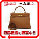 "Sewing トゴゴールド X gold metal fittings C 刻 》 in 32 HERMES handbag ""Kelly"" for 《"