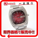 Omega Cima star TV screen D date men watch SS self-winding watch cherry gradation clockface antique 》 for 《