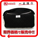 CHANEL quilting chain shoulder bag black X white by color 》 for 《