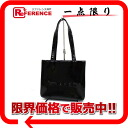 CHANEL enamel logo tote bag black 》 02P02Aug14 for 《