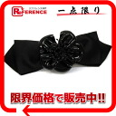 CHANEL camellia ribbon Valletta black 》 for 《