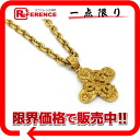 CHANEL CC motif pendant necklace gold 》 for 《
