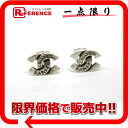"99 a Chanel CC earrings Silver ""response.""-02P02Aug14"