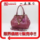 "Prada VITELLO SHINE (vitelloschein) 2WAY shoulder bag MALVA (Pink) BN1777 ""enabled."""