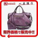 "BALENCIAGA editors bag ""the city"" purple 115748 》 for 《"
