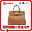 "35 HERMES highest peak handbag ""Birkin"" クシュベルゴールドゴールド metal fittings Y 刻 》 for 《"