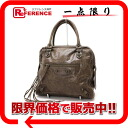 "BALENCIAGA ""the mini bowling"" handbag brown 163259 》 for 《"