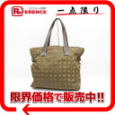 "Chanel Newt label line Tote GM khaki A15825 ""enabled."""