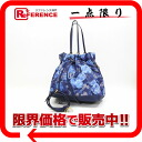 "Louis Vuitton Monogram I cut never MM-2-WAY shoulder bag Grand blue M94312 ""enabled."""
