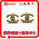 CHANEL CC earrings gold 》 for 《