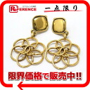 "Chanel CC earrings gold ""response."""