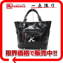 Kitamura K2 enamel tote bag black X dark brown beauty product 》 for 《