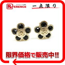 "Chanel 06A flower earring gold / black beauty products ""enabled."""