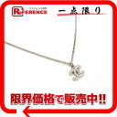 CHANEL 09V rhinestone CC pendant necklace silver 》 for 《