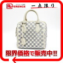 "Louis Vuitton Damier cubic "", speedy cube PM"" handbag calf x taffeta Gris M48909 ""enabled."""