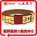 Hermes cored cyan medal belt 70 kshber red x gold gold bracket old U engraved s correspondence.""