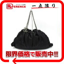 """Chanel cotton canvas (Jersey) Melrose coves shoulder bags black silver metal A37056 """"enabled."""""""