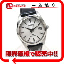 """Seiko Grand Seiko men's watch SS quartz leather belt 9F62-0AB0 new as well? s support."""""""