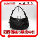 "Prada leather bag semishoulder black BR3795 beauty products ""enabled."""