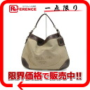 "Prada Loggia guard semishoulder bag beige x Brown BR3420 ""enabled."""