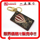"""Louis Vuitton Monogram balloon bag charm red of M67932? s support."""""""