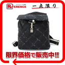 "Chanel old travel line backpack black ""response."""