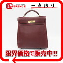 "Hermes rucksack ""Kerry ad GM"" triyoncremans Rouge ash gold bracket E ticking? s support."""