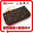 "Louis Vuitton Monogram Perfo ""key and change holder"" pennies put the combined key holder Orange M95222 beauty products ""enabled."""