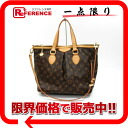 "Louis Vuitton Monogram Palermo PM 2WAY Tote M40145 ""enabled."""