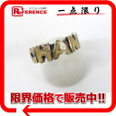 """Chanel 00T CC logo ring 12.5 issue silver x cream? s support."""""""