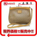 "Old Gucci GG plus Pochette Bag beige ""response."""