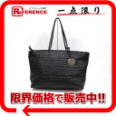 "Fendi caked vinyl coated leather tote bag black 8BH185 ""enabled."""