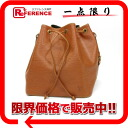 "Louis Vuitton EPI leather ""PTI Noel"" DrawString shoulder bag zipanggold M44108? s support."""