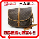 "Louis Vuitton Monogram shoulder bag ""Saumur 35"" M42254 ""enabled."""