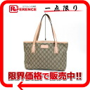 "Gucci GG plus tote bag beige × 211138 pink ""response."""