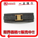 Ferragamo Vara Ribbon Barrette grey? s support.""