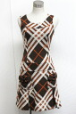 """Burberry Blue label Nova check pattern one piece 38 Brown? s support."""""""