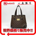 "Louis Vuitton Damier Hampstead PM tote bag N51205 ""enabled."""