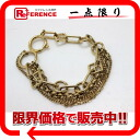 "Louis Vuitton ""bracelet shine Vegas"" chain bracelet M65362? s support."""