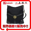 """Gucci double G pigskin x GG canvas no machi shoulder bag black 115568 beauty products """"enabled."""""""
