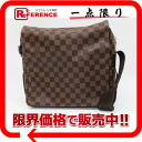 "Louis Vuitton Damier ""Naviglio"" shoulder bag N45255 beauty products ""enabled."""
