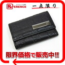 "Gucci Shima line 6-key case Black 237509 ""enabled."""