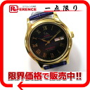 """Gianni Accardi anniversary behind schedule automatic winding mens watch SS/GP """"enabled."""""""