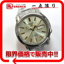 "Seiko Seiko 5 soles scale men's watch SS automatic self-winding 7S26-03S0 like new ""support."""