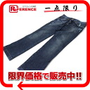"Dolce & Gabbana d & g damage processing denim jeans Womens 40 indigo blue ""support."""