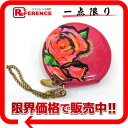 "Coin purse chain with Louis Vuitton Vernis ""ポルトモネシャポー"" rose M93690 ""enabled."""