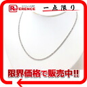 """Recycled jewelry K18WG diamond tennis necklace D3.00ct? s support."""""""