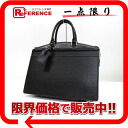 """Riviera"" Louis Vuitton EPI leather handbags Noir M48182 ""enabled."""